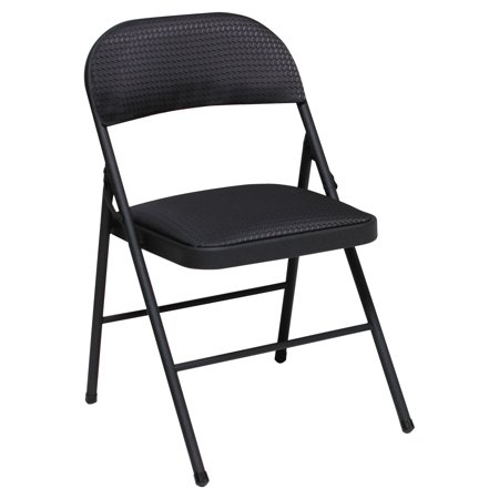- Cosco Deluxe Metal and Fabric Folding Chair, Set of 4