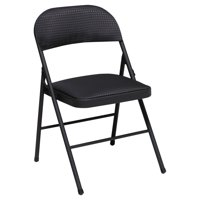 Cosco Deluxe Metal and Fabric Folding Chair, Set of 4