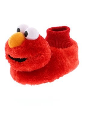 Sesame Street Elmo Boys Girls Sock Top Slippers STF5521BSS