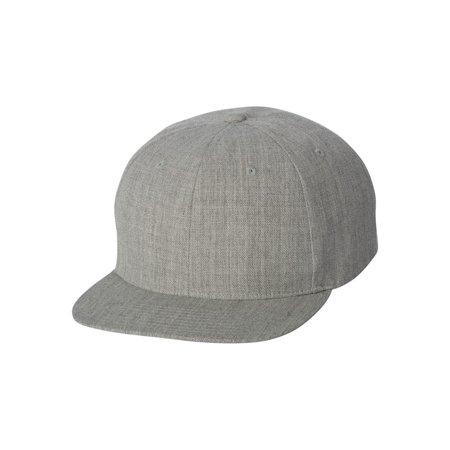 Yupoong - 6089M Yupoong Headwear Wool Blend Flat Bill Snapback Cap -  Walmart.com 9d6758686ee