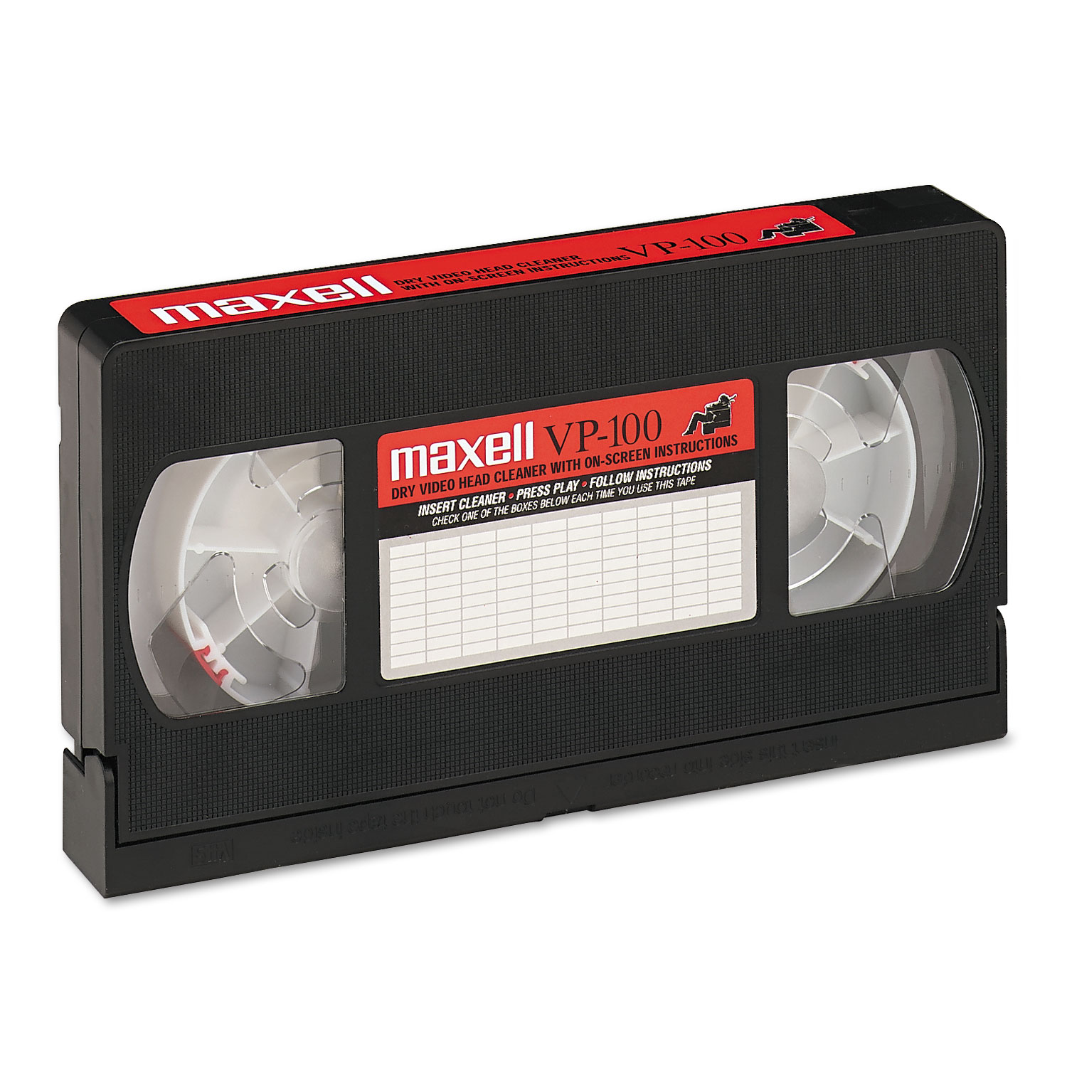 Maxell Video Head Cleaner, Dry