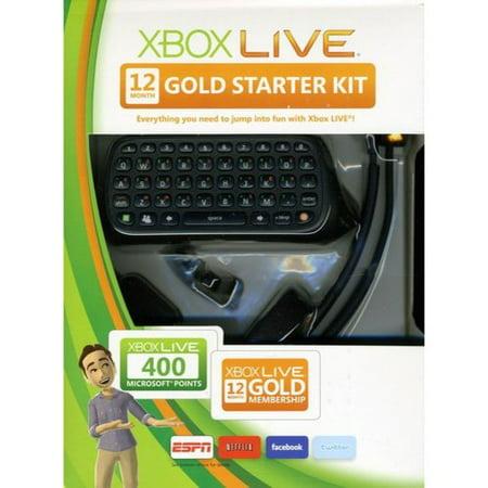 Xbox Live 12 Month Starter Kit  Xbox 360