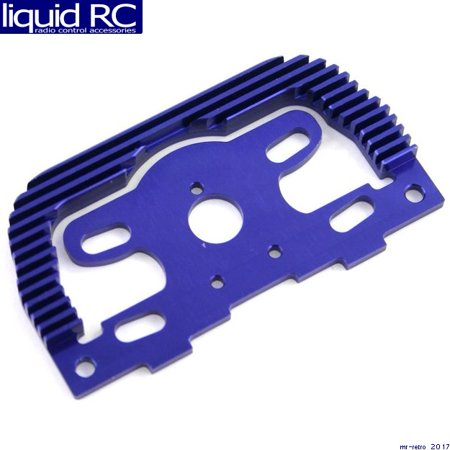 Hot Racing MLT1806 Blue Aluminum Heat Sink Motor Plate