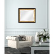 5dc16644da14 Wall Beveled Mirror Framed - Bedroom or Bathroom Rectangular Frame Hangs  Horizontal and Vertical By EcoHome