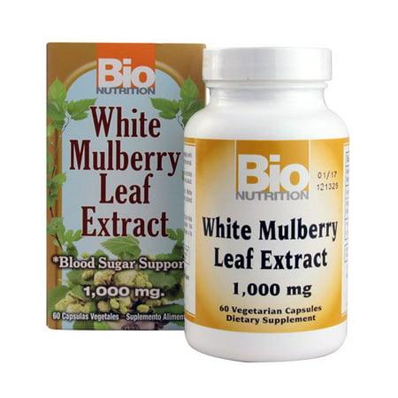 Bio Nutrition White Mulberry Leaf