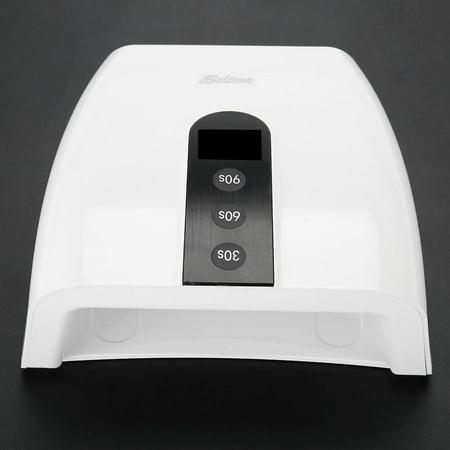 HURRISE Lumière rouge portable lumière manucure lampe lumière séchoir à ongles auto minuterie outil de manucure (prise américaine), outil de manucure, lumière des ongles - image 5 de 13