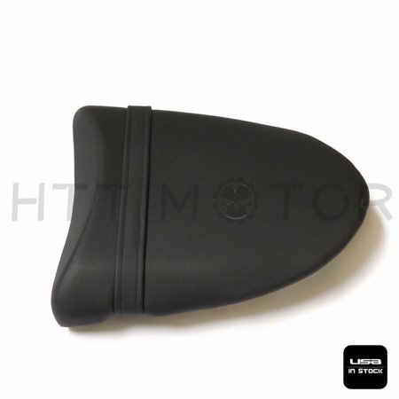 Httmt Black Passenger Back Rear Seat Pillion For 2004