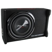 product image pioneer 10 inch 1200 watt shallow mount subwoofer pre-loaded  sub | ts-swx2502