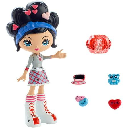 KuuKuu Harajuku Love Doll, Assortment of 5 HJ5 band dolls from the Nickelodeon series Kuu Kuu Harajuku in iconic fashions By Mattel