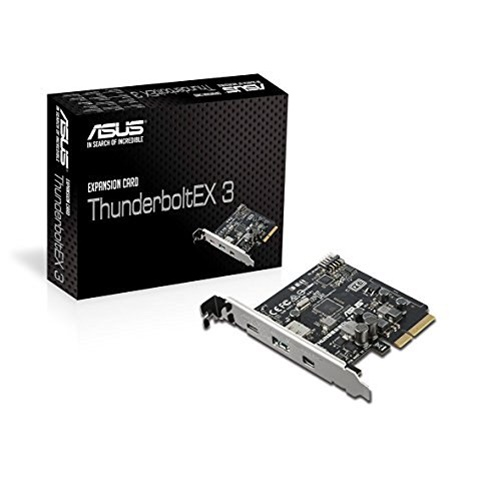 THUNDERBOLTEX 3 PCI3.0 4SLOT 4K UHD 40GBPS Z170 & X99 MB DP1.2