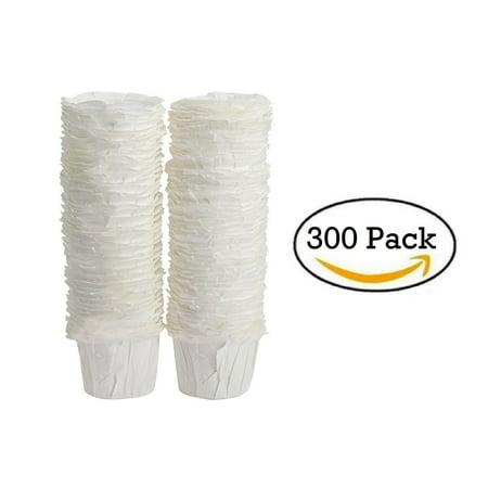 paper keurig compatible single-serve disposable paper filters (300 ...