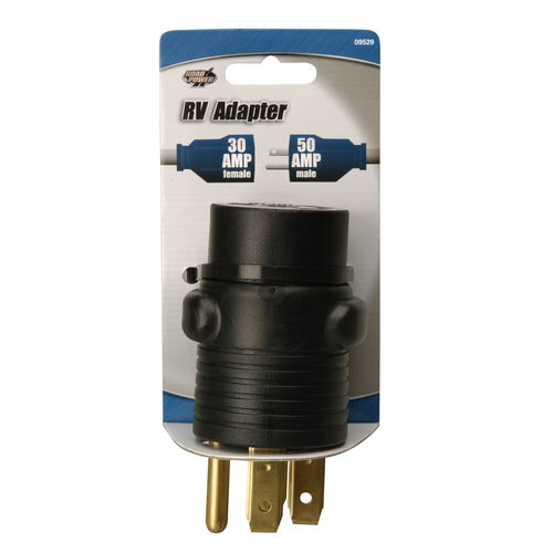Road Power 09529-33-88 50-30-Amp RV Power Adapter