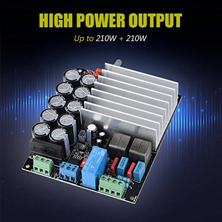 Amplifier Board,Digital Power Amplifier Board With Dual-Channel Class D Amp Board 210W+210W Digital Amp Board - image 3 de 5