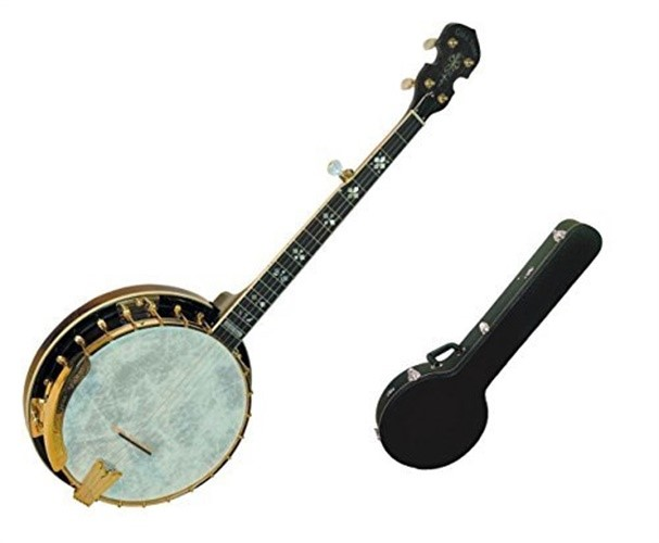Gold Tone 5-String Travel Banjo w  Hard Case by Gold Tone