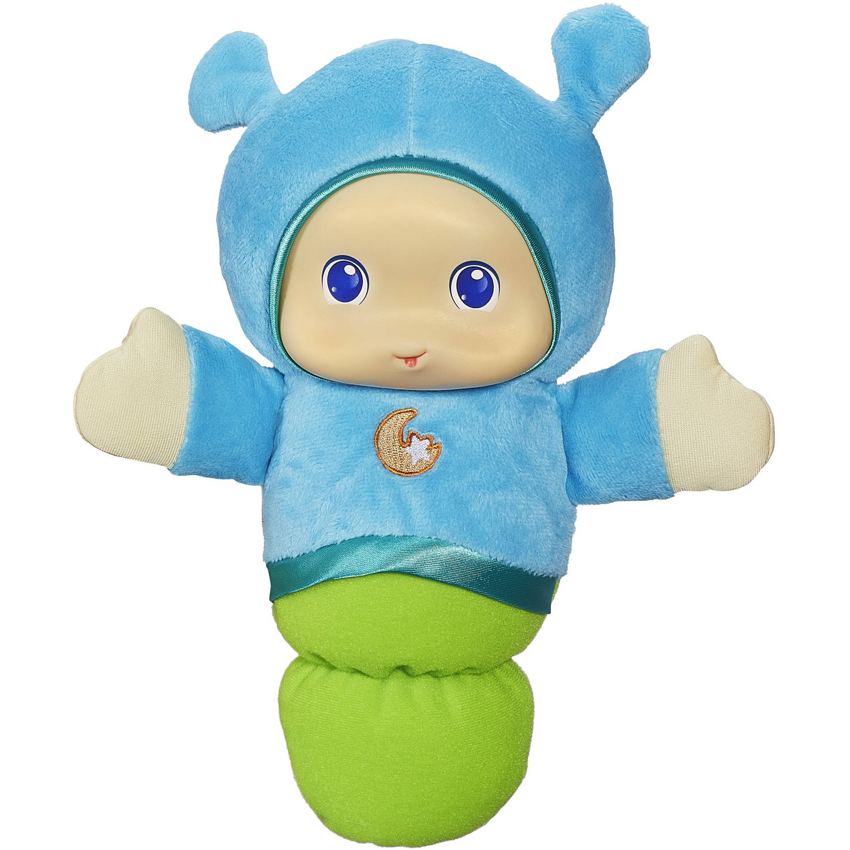 Playskool Play Favorites Lullaby Gloworm Toy, Blue by Playskool