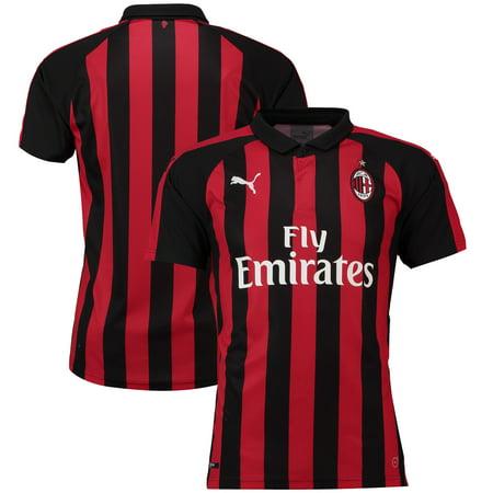 AC Milan Puma 2018/19 Home Replica Jersey - -