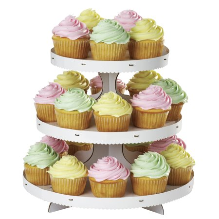 Wilton 3-Tier Cupcake Stand, White for $<!---->