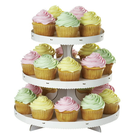 Wilton 3-Tier Cupcake Stand, - Decorative Cupcake Holders