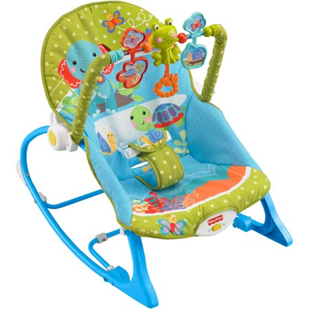 Fisher Price Infant To Toddler Rocker Elephant Friends Walmart