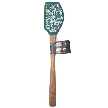 Thyme & Table Pointed Spatula - Green Vegetables