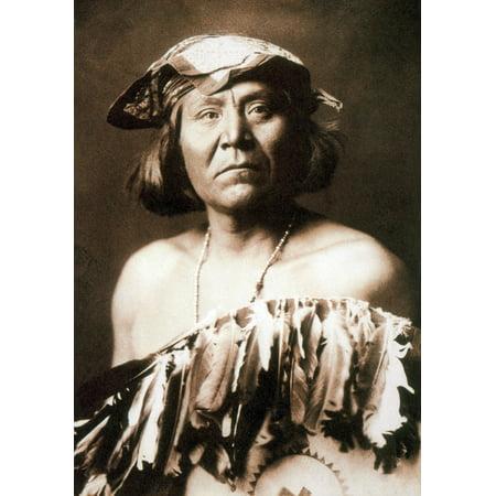 Apache Medicine Man 1903 Rolled Canvas Art   Science Source  24 X 36