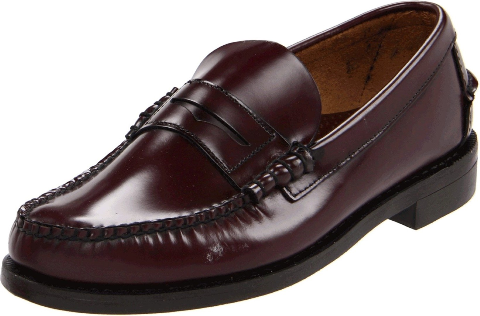 Sebago Men's Classic Antique Brown Penny Loafers by Sebago