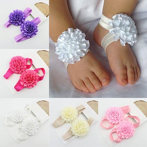 Koszal 2Pcs Baby Infant Toddler Girl