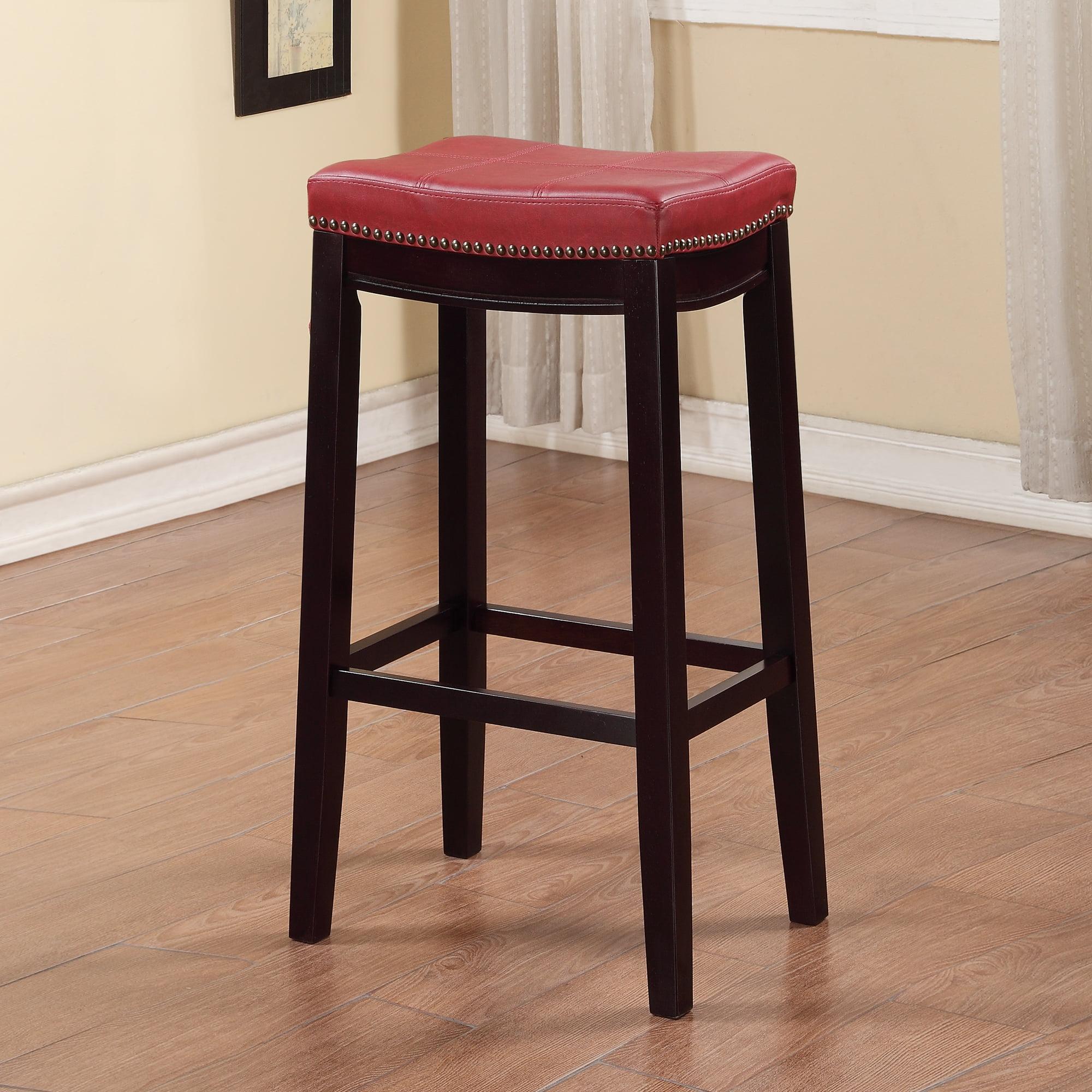 Linon Claridge Bar Stool 32 Inch Seat Height Multiple