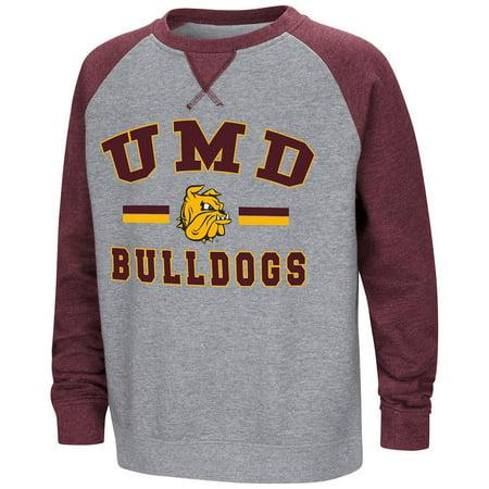 Minnesota Wild Youth Fleece (Youth Minnesota Duluth Bulldogs Fleece Crewneck Sweatshirt -)