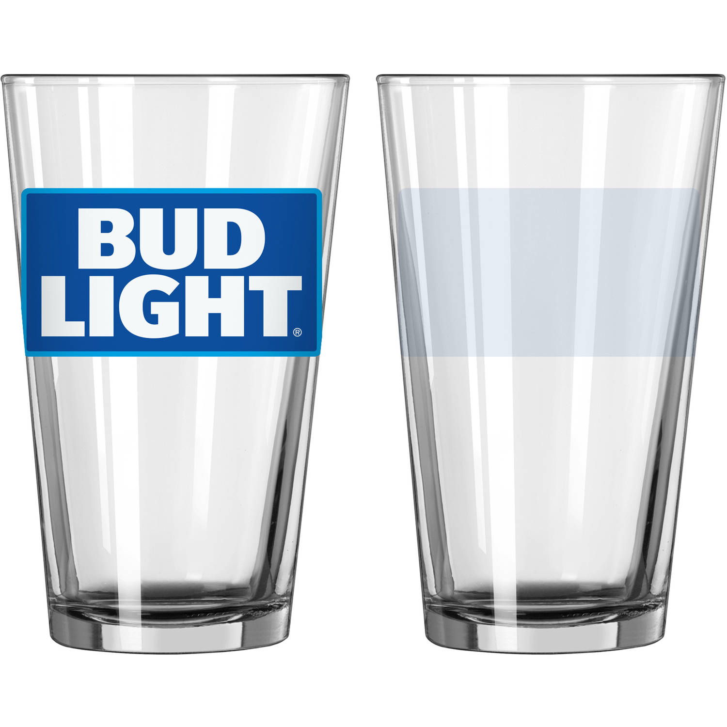 Bud Light Pint Glasses, 2pk by Boelter Brands