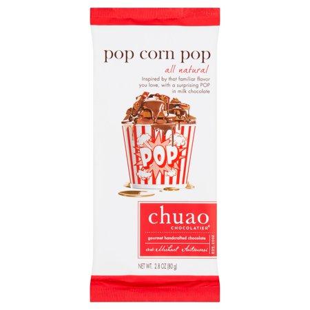 Chuao Chocolatier Pop Corn Pop Gourmet Handcrafted Chocolate  2 8 Oz  12 Pack