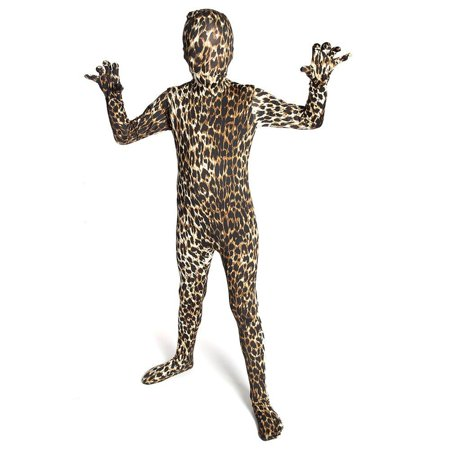Morphsuits Kids Premium Leopard Costume, Medium](Girls Morphsuits)
