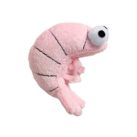 Shrimp Sushi - Cat Toy, Sushi Shrimp Pink, Cats will go Crazy By Doggles