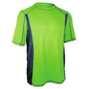 Diadora Men's Camero Training Top Shirt Lime Blue XL