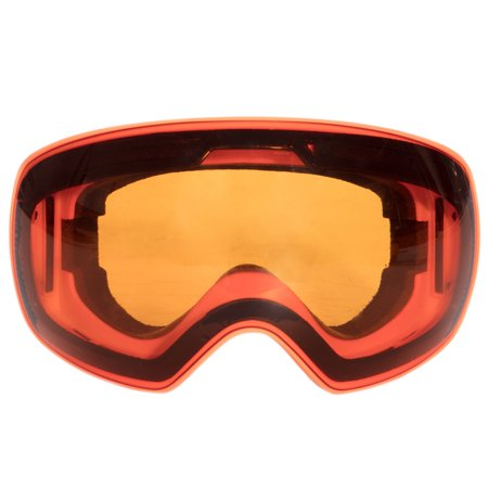C.F.GOGGLE Ski & Snowboard Goggles, Winter Snow Sports Snowboard Large Spherical Goggles with Anti-Fog for 100% UV400 Protection Interchangeable Mirror Lenses for Men & Women (100 Uv400 Schutz)