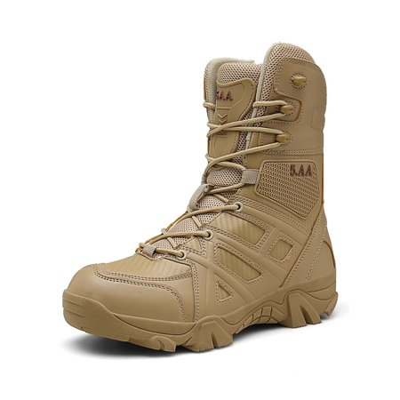 Military Tactical Boots Desert Combat Outdoor Army Hiking -