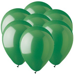 - Green 11 inch Latex Balloons (100 count)