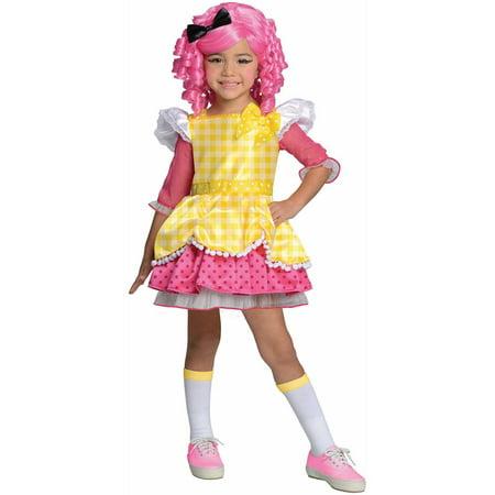 Lalaloopsy Crumbs Sugar Cookie Child Halloween Costume - Sugar Daddy Costume