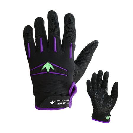 Bunkerkings / BKNR Kings Supreme Gloves - Purple / Lime