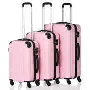 Best Suitcases - 3Pcs 20/24/28 Luggage Travel Set Bag TSA Lock Review