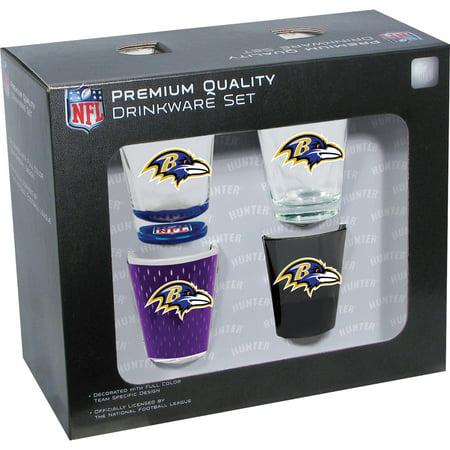 27ea4881f Hunter Baltimore Ravens 2oz Shot Glass 4 - Walmart.com