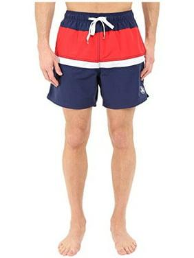 Body Glove Men's Side Lines Volleys Board Shorts, Indigo Swim Trunks