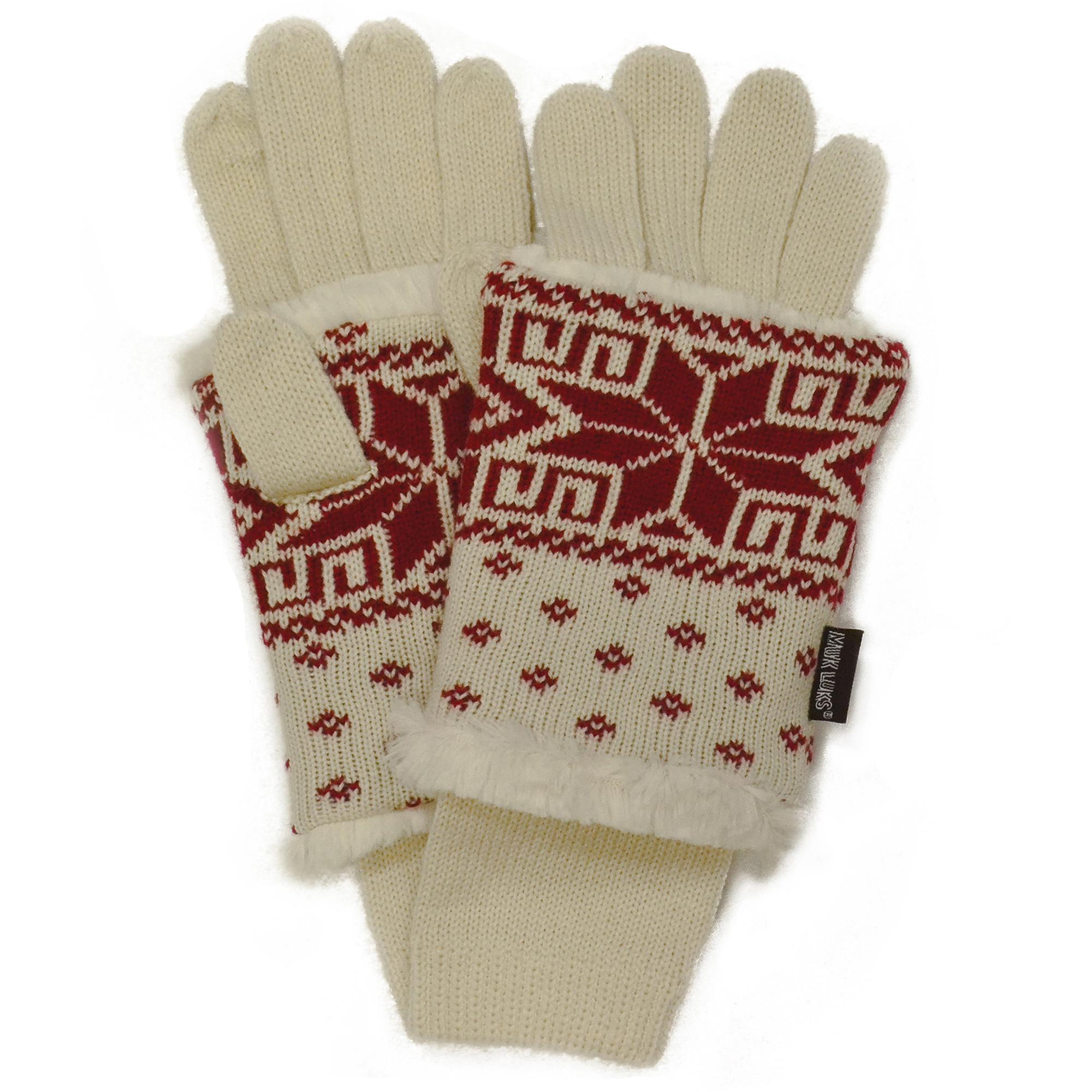 Snowflake Key Gloves