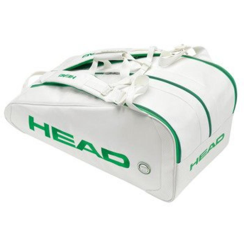 Head White Monstercombi Tennis Racquet Bag