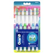 Oral-B Indicator Color Collection Manual Toothbrush, Soft, 6 Ct