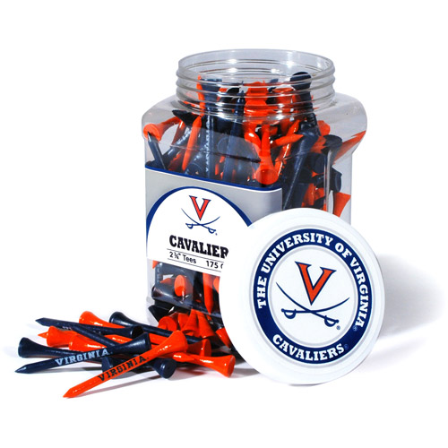 Team Golf NCAA Virginia Jar Of 175 Golf Tees