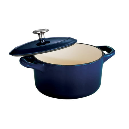 Tramontina Gourmet Enameled Cast Iron 24 oz. Covered Small Cocotte - Gradated