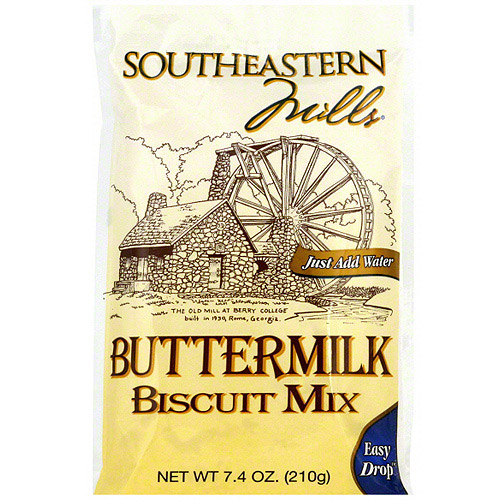 Southeastern Mills Buttermilk Biscuit Mix, 7.4 oz (Pack of 24)