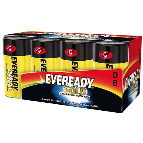 Energizer Max D Batteries, 8 Count