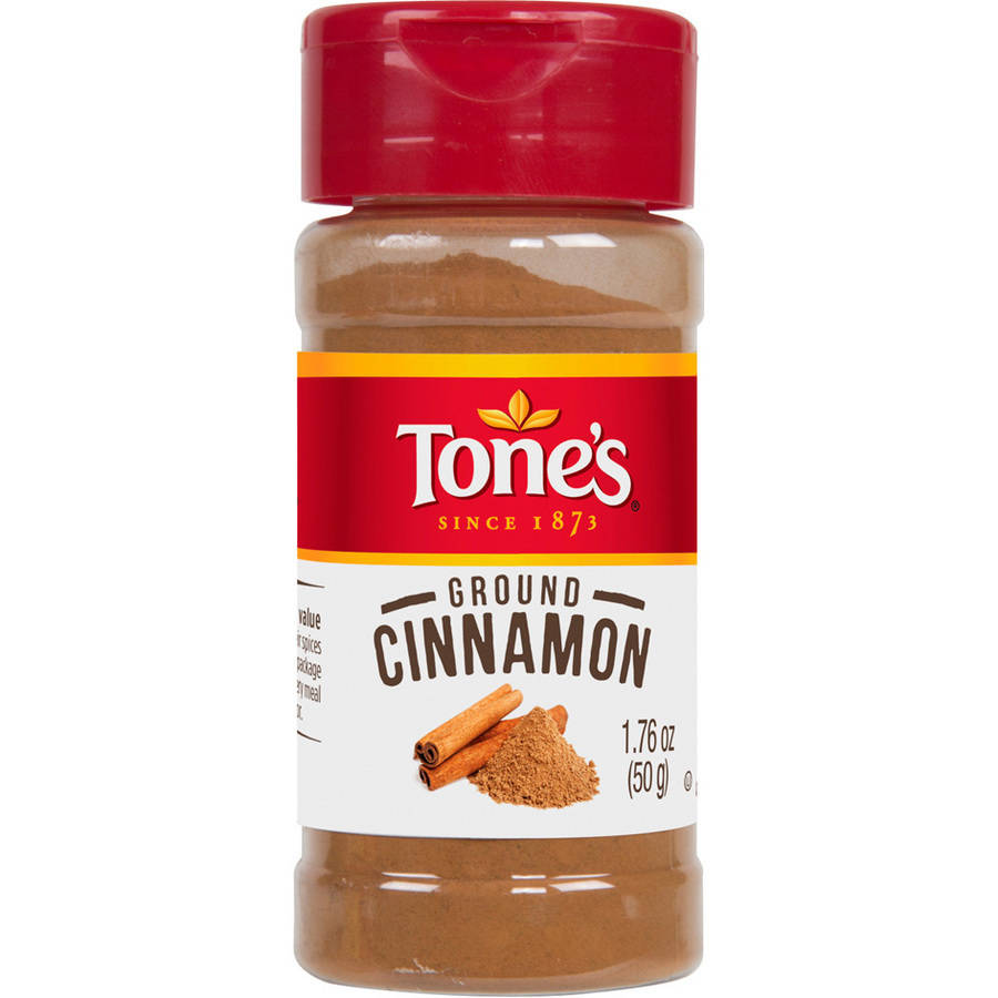 (3 Pack) Tone's Ground Cinnamon, 1.76 oz